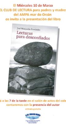 Presentación libro José Monjardín