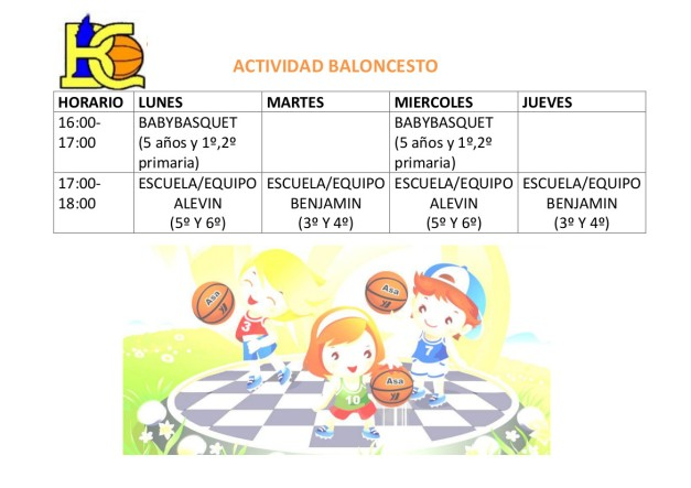 Basketball Activity