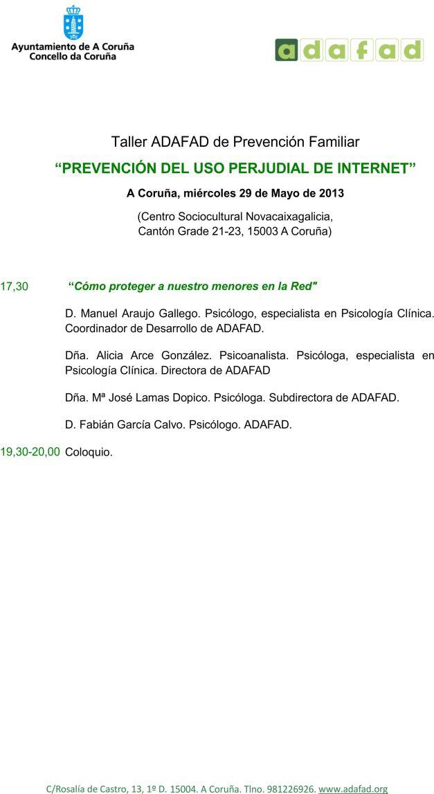 Programa 29 mayo