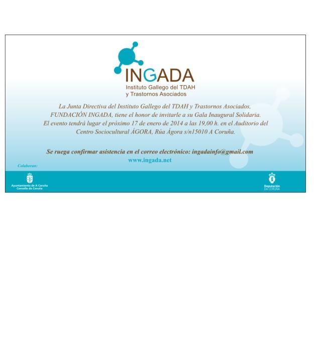 Invitacioìn Gala INGADA
