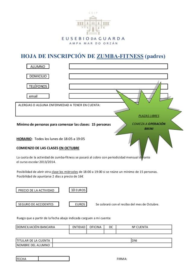 Hoja de inscripción zumba-fitness2